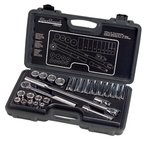 26 Piece Standard Socket Set, 1/2'' Drive Size