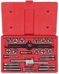 High Carbon Steel 24 Piece Tap and Hexagon Die Set