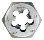 1/2'' High Carbon Steel Rethreading Hexagon Taper Pipe Die