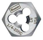 5/16'' High Carbon Steel Rethreading Fractional Hexagonal Dies