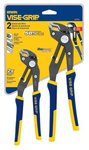 2 Piece Groove Lock Plier Set