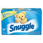 Snuggle Fresh Scent Dryer Sheet