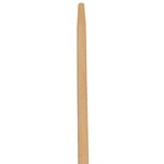 Natural, Tapered-Tip Wood Broom/Sweep Handle-60-in