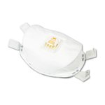 Particulate Respirator with adjustable nose clip