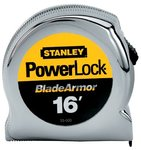"1"" X 16' Powerlock Tape Rules 1"" Wide Blade with BladeArmor"