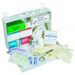 25 Person First Aid Kit w/Metal Carrying Case