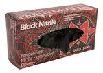 Black Widow Series Latex Free Exam Gloves (L)