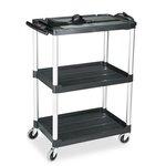Av Cart with 3 Shelf, 42-in