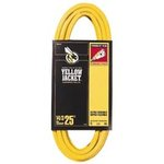 25FT, Triple Conductor, Yellow Jacket Power Cord