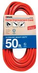 50FT Extension Cord, Orange