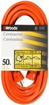 50FT SJTW Extension Cord, Orange