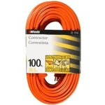 100- ft Outdoor Extension Cord, Orange