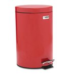 Red Commercial Economical Steel Step Can