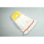 White, Small Cotton/Synthetic Shrinkless Web Foot Wet Mop Head
