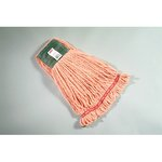 Orange, Medium Cotton/Synthetic Shrinkless Web Foot Wet Mop Head