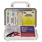 General Plastic Case Weatherproof First Aid Kit 76 Pieces