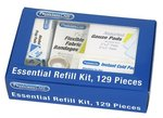 PhysiciansCare First Aid Kit Essentials Only Refill Kit: 129 Piece