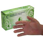 C2 Series Polyethylene Recyclable Exam Gloves Small