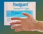 FoodGuard Series Polyethylene Preparation Gloves Large