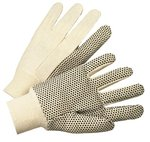 8 0z 1000 Series Black Dotted Canvas Gloves