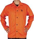 "30"" XX-Large 9 OZ Premium Flame Retardant Jacket Orange"