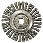"4"" Stainless Steel Stringer Bead Wheel Brush"