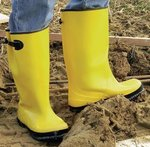 Size 14 Yellow Heavy Duty Slush Boots