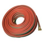 Red/Green 100 ft Twin Welding Hose for All Fuel Gases