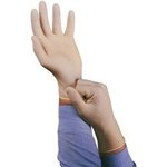 Large Powder Free Conform XT Disposable Natural Rubber Latex Gloves- Box of 100