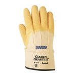 Heavy Duty Work Gloves, Size 10, Yellow, 12 Pairs