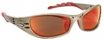 Fuel Burnt Copper Polycarbonate Safety Eyewear