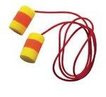 Red, Yellow Corded E-A-R Classic SuperFit 33 Foam Earplugs