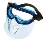 Clear Blue Frame Anti Fog Full Face Goggles