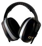26 dB H70 Onyx Earmuffs w/Black Headband