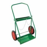 Green Low-Rail Frame Dual-Cylinder Cart/Large Set