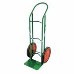 Green Single-Cylinder Delivery Cart w/ 500 lb Load Capacity