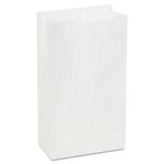 White, 500 Count 35 Pound Base Weight 6# Paper Bag-6 x 3.62 x 11.06