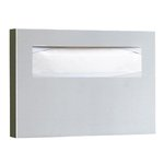 Satin Stainless Steel, Toilet Seat Cover Dispenser-15.75 x 2 x 11