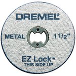 5 Piece Heavy Duty EZ Lock Metal Cut Off Wheels