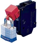 "480.00 V, 600.00 V ""No Hole"" Circuit Breaker Lockouts"