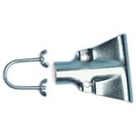 Small Metal Handle Braces fits 18 to 48'' Floor Sweeps