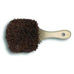 Palmyra Bristle Utility Brush, Plastic, 8 1/2 Tan Handle
