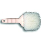 Nylon Bristle Utility Brush, 8.5 Tan Handle