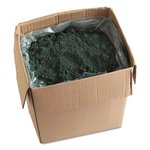 Blended Wax-Based Sweeping Compound, Green, Grit-Free, 100lb