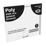 Polyethylene (plastic) Disposable Food Handling Gloves-Medium
