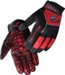X-Large Red/Black Silicone Grip Multi-Task Gloves