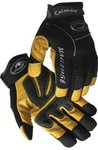 X-Large Pigskin Leather Mechanics Glove Yellow/Black