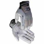 Large Gray Leather Deerskin Mechanics Gloves