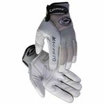 X-Large Gray Leather Deerskin Mechanics Gloves