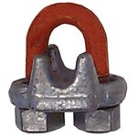1/2 Forged Steel Galvanized Zinc Wire Rope Clip
